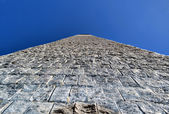 Stone tower and the sky — Стоковое фото
