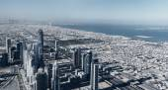 Panorama of Dubai — Stock Photo