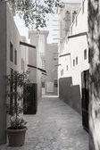 Bastakiya district in Dubai — Stock Photo
