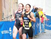 Anja Knapp and Lucy Hall — Stock Photo