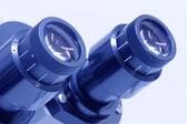 Microscope ocular — Stock Photo