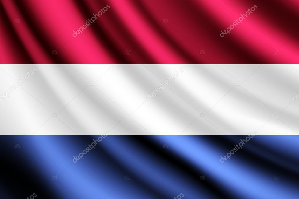 Netherlands Flag Waving Waving Flag of Netherlands