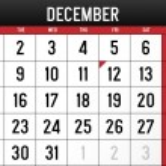Calendar for December 2014 — Stock Vector #52214229