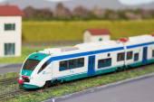 Modell tåg — Stockfoto