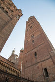 The beautiful cathedral of cremona — Stock Photo