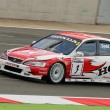 Постер, плакат: Clasic British Touring Cars racing at Silverstone