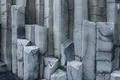 Colonne di basalto esagonali, Vik, Islanda — Foto Stock