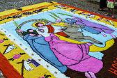 Colourful carpets - Holy week - El Salvador — Zdjęcie stockowe