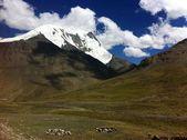 Mountains of Tibetan Himalayas — Stock Photo