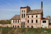 Old factory vinegars — Stock Photo