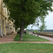Постер, плакат: Promenade on the Petrovaradin fortress