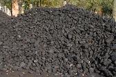 Coal pile — Stock Photo