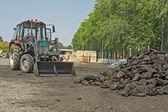 Coal heaver — Stock Photo