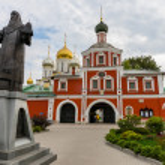 Zachatievskiy Monastery. The main entrance. — Stock Photo #56957103