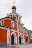 Zachatievskiy Monastery. The main entrance. — Foto de Stock