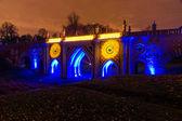 Tsaritsyno. Moscou. Festival international The Circle of Light. — Photo