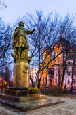 Izmailovsky Island. The Monument To Peter I. — Zdjęcie stockowe