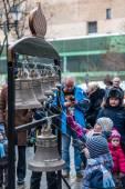 Maslenitsa (pancake week). Masterclass from the team of bell rin — Stock Photo