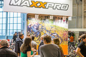 The exhibition Bikepark-2015. — Stock Photo