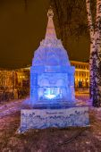 The Ice sculpture: The Entrance Arch. — Stock Photo