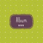 Album cover photos — Stock Vector