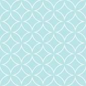 Diamonds and circles pattern petals — Stock Vector