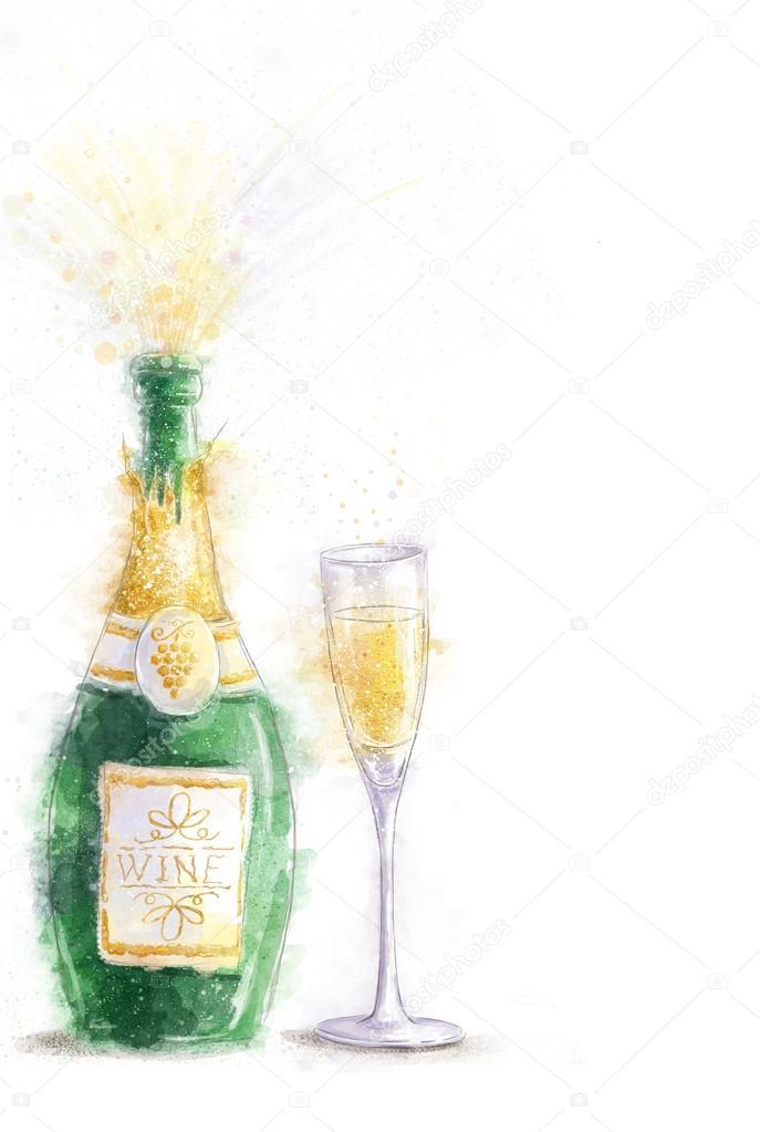 St Birthday Wine Glass