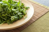 Plate of salad — Stock Photo
