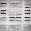 Cinder block wall background and texture — Stock Photo #74135947