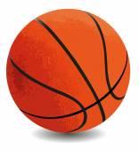 Basketball ball — Stock Vector