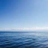 Błękitne morze — Zdjęcie stockowe