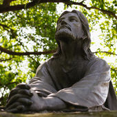 Jezus Christus standbeeld beeld — Stockfoto