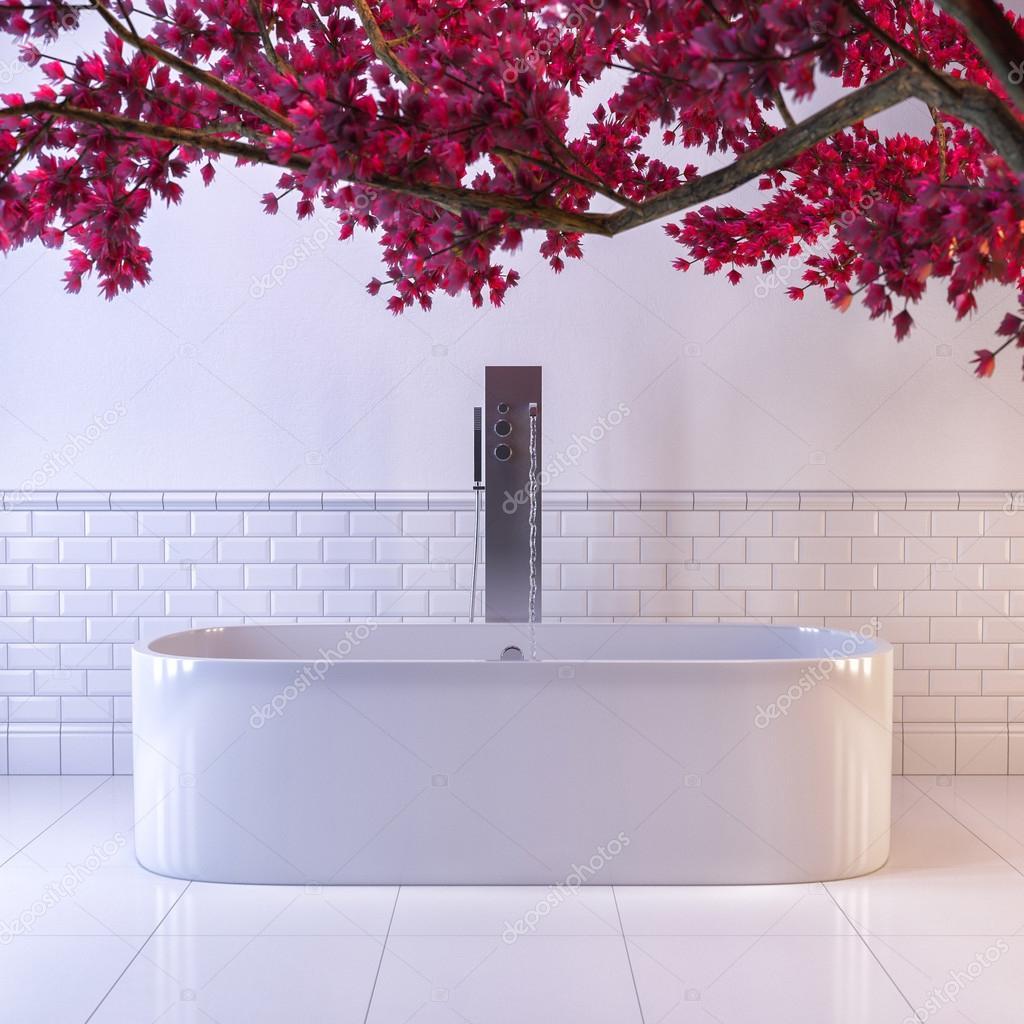 3D göra vita badrummet — Stockfotografi © Richman21 #114109354