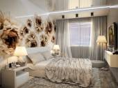 Modern Bedroom Design — Stock Photo