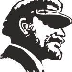 Постер, плакат: Vladimir Lenin vector