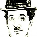 Charlie Chaplin in vector — Stock Vector #52990785