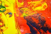 Abstract hand painted acrylic color background — Стоковое фото
