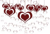 Heart valentine's day background — Zdjęcie stockowe