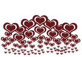 Serce tło valentine's day — Zdjęcie stockowe