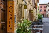 English bookshop banner — Stock Photo