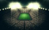 Estadio en la noche — Foto de Stock