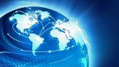 World Globe Background Concept — Stock Photo