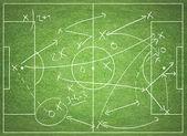 Soccer tactics — Stock Photo
