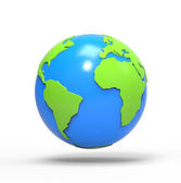 Glob world — Zdjęcie stockowe
