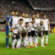 Valencia CF during the Spanish League game against Malaga CF — Stock Photo #52318617