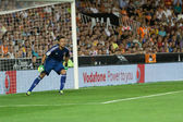 Diego Alves of Valencia in action — Stock Photo