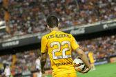 Luis alberto com uma bola — Fotografia Stock
