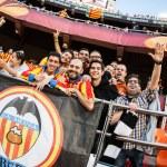 Valencia supporters UEFA Europe League — Stock Photo #52717185
