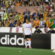 Piatti ready to shot a corner kick — Stock Photo #52717683