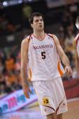 Spanish ACB League Pamesa Valencia against Akasvayu Girona — Foto Stock